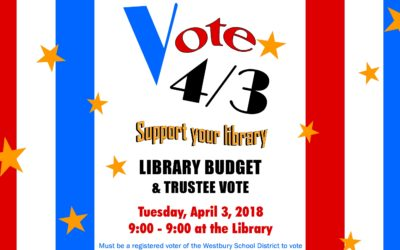 Library Budget Vote & Trustee Election