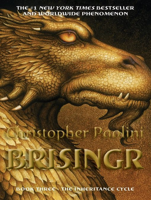 Brisingr: Inheritance Cycle Series, Book 3 by Christopher Paolini