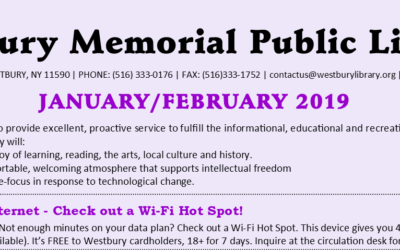 January / February 2019 Newsletter