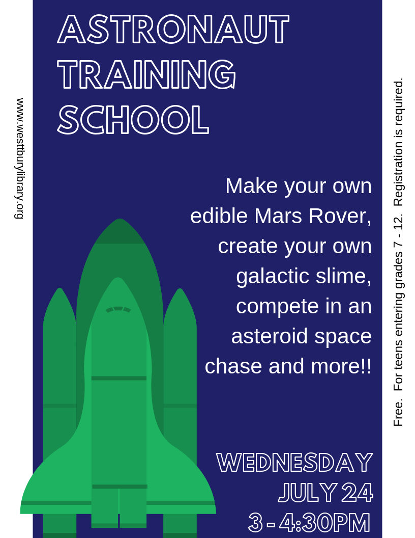 astronaut training school